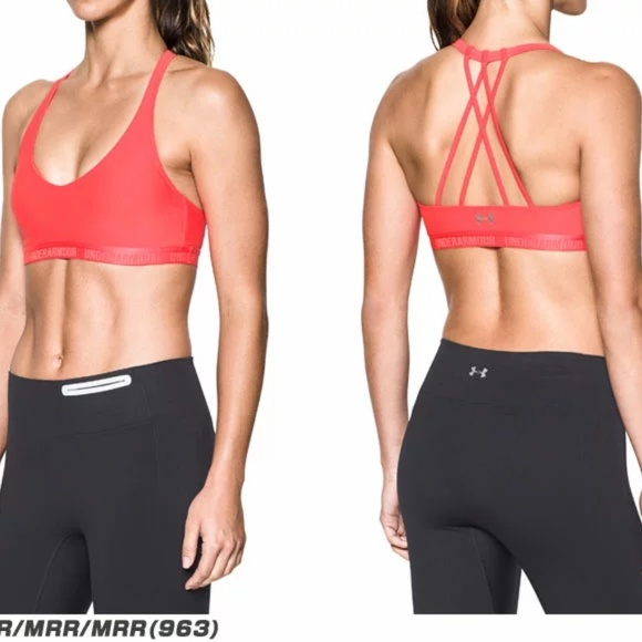 f7f60dcea0f99 UNDER ARMOUR ARMOUR® STRAPPY BRALETTE